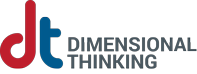 Dimensional Thinking, LLC Sticky Logo